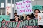 Người Mỹ gốc Việt biểu tình phản đối United Airlines