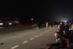 3 nam sinh lớp 11 đi sinh nhật về bị container tông chết thảm