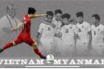 Infographic: Việt Nam bất bại khi đối đầu Myanmar ở AFF Cup