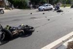 Mô tô phân khối lớn tông xe máy, 5 người thương vong