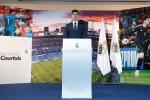 Courtois hon len logo Real Madrid trong ngay ra mat hinh anh 9