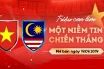 Vé trận Việt Nam-Malaysia vòng loại World Cup 2020 hết sạch sau 2 phút mở bán