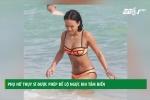 Phụ nữ Thụy Sĩ đua nhau để ngực trần tắm biển
