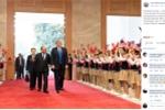 Nhà Trắng đăng ảnh chuyến đi Việt Nam của Tổng thống Trump