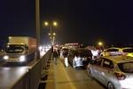 Đường vành đai 3 tê liệt từ chiều đến đêm, xe cộ ùn tắc 8km