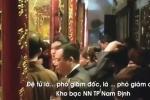 Giám đốc Kho bạc TP Nam Định đi lễ giờ hành chính mất chức