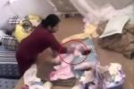 Bắt khẩn cấp giúp việc đánh đập bé gái hơn một tháng tuổi
