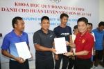 Dàn HLV quần vợt Việt Nam hoàn thành khoá học chuẩn quốc tế