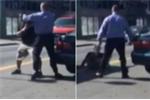 Clip: Hai tài xế lao vào đánh nhau như phim hành động