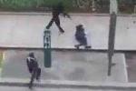 Video rõ nét về tay súng nã đạn vào cảnh sát Pháp