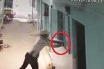 Clip: Sạc điện thoại gần cửa sổ, bị kẻ gian tiện tay 'thó' mất