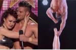 Khán giả sợ hãi vì thí sinh 'Got Talent' tuột chân rơi xuống sàn diễn