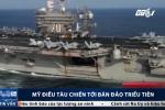Mỹ điều chiến hạm đến bán đảo Triều Tiên