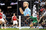 Sergio Aguero lập hattrick, Man City đẩy bay Arsenal khỏi Top 5