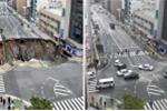 Lấp hố tử thần 30m trong 2 ngày, chính quyền Nhật Bản xin lỗi dân