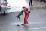 Chó dữ nổi điên cắn hơn 20 người trên phố