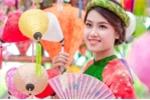 Nữ sinh Hà thành đẹp cuốn hút trong bộ ảnh đón Xuân