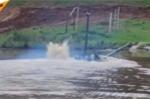Xe tăng T-72 của Nga băng băng lội nước, vượt sông như tàu ngầm
