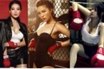 Gợi cảm như Thuỷ Top, Hoa hậu Kỳ Duyên trong trang phục boxing