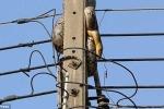 Clip: Kinh hãi cảnh 'chiêu hàng' trăn dài 3m cố thủ trên cột điện