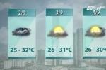 Dự báo thời tiết cả nước dịp nghỉ lễ 2/9