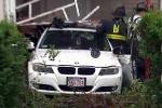Mẹ bất cẩn, bé trai 8 tuổi lái xe BMW gây tai nạn