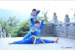Ảnh cưới phong cách Vovinam của hai huấn luyện viên võ thuật