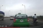 Phạt nặng tài xế taxi lạng lách, đánh võng trên cầu Vĩnh Tuy