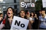 Dân Mỹ biểu tình phản đối tấn công quân sự Syria