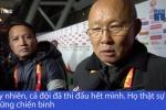 Clip: U23 Việt Nam giành chiến thắng lịch sử, HLV Park Hang Seo nói gi?