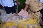 CSGT Huế bắt xe tải chở gần 1 tấn sụn gà không rõ nguồn gốc suýt lên bàn nhậu