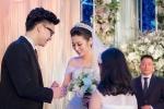 Loạt khoảnh khắc đẹp như mơ trong đám cưới Á hậu Tú Anh
