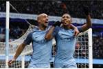 Jesus ghi hai bàn, Man City thắng hú vía phút bù giờ