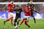 Trực tiếp Benfica vs MU, link xem bóng đá cúp C1 Champions League 2017