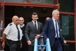 Vừa lái xe vừa nghịch điện thoại, David Beckham hầu tòa