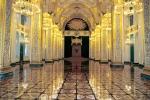 Video: Khung cảnh tráng lệ bên trong cung điện diễn ra lễ nhậm chức của Tổng thống Putin