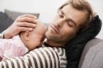 Nghiên cứu sốc: Các ông bố cũng trầm cảm sau 'sinh'