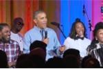 Tổng thống Obama khoe giọng hát mộc mừng sinh nhật con gái lớn