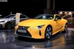 Lexus LC phiên bản giới hạn vàng chóe, đẹp hút hồn tại Paris Motor Show 2018