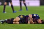 Messi chấn thương nghỉ 3 tuần, lỡ trận Siêu kinh điển đầu tiên trong mùa giải