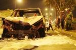 Ôtô tông xe máy bốc cháy trơ khung, 1 người thiệt mạng