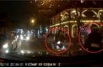 Clip: Nam thanh niên chặn đầu thách thức ô tô giữa phố Hà Nội và cái kết đắng