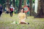 Ảnh: Phố phường Hà Nội đẹp nao lòng mùa lá rụng