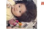 Bé gái 6 tháng tuổi có mái tóc siêu dày gây sốt mạng xã hội