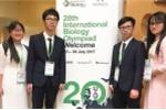 Đoàn học sinh Việt dự thi Olympic Sinh học quốc tế đạt thành tích cao chưa từng có