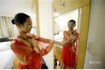Nữ sinh xinh đẹp dự thi 15 trường nghệ thuật trong nửa tháng