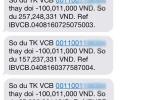 Chủ thẻ Vietcombank thông báo mất 500 triệu đồng trong một đêm