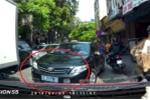 Clip: Ô tô biển xanh lấn làn trên đường ùn tắc, tài xế xe biển trắng phản ứng bất ngờ