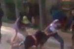 Làm rõ clip nữ sinh bị đánh hội đồng, lột áo giữa đường ở Thanh Hóa