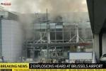 Hiện trường kinh hoàng vụ nổ liên hoàn ở thủ đô Bỉ